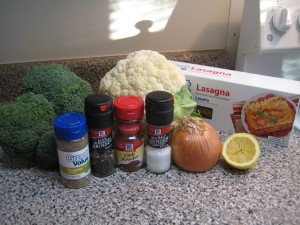 Vegan Lasagna_Ingredients